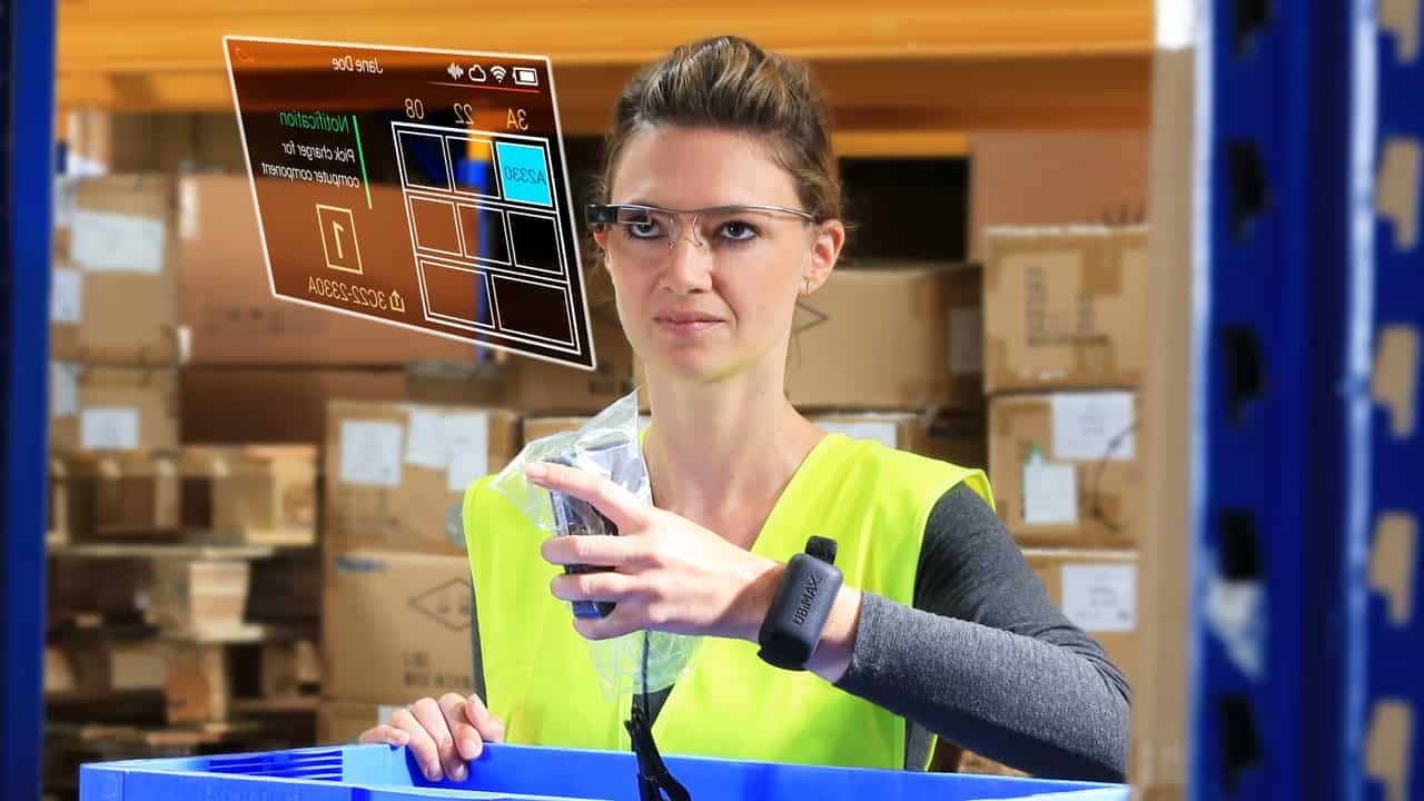 Vision Picking Augemented Reality UBIMAX